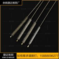 Factory direct stainless steel super long super thin tube brush water pipe brush set cleaning brush