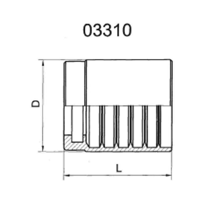 SAE100R2AT/EN8531SN 2SN胶管加强套筒