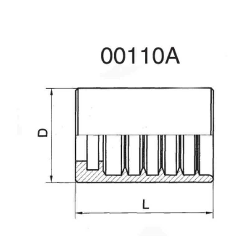 SAE100R1AT/EN853 1SN 胶管加强套筒