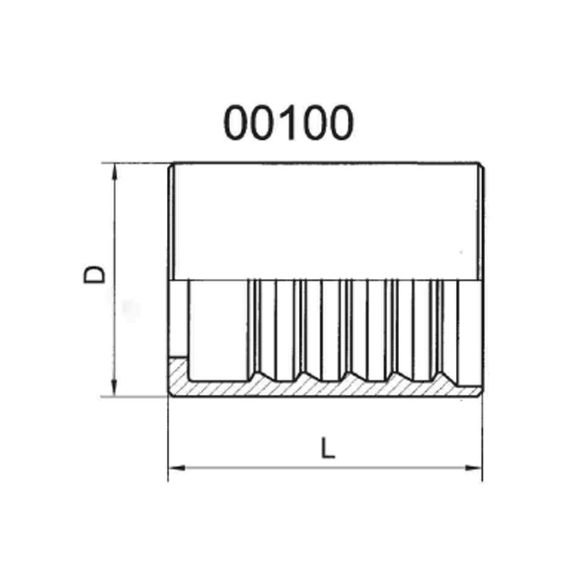 SAE100R1A/EN8531SN剥胶套管