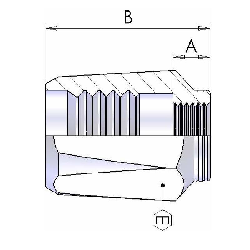 SAE100 R2软管可拆套筒